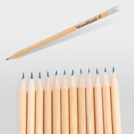 Yuvarlak ve Silgili Kurşun Kalem