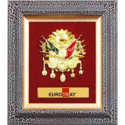 Altın Osmanlı Arması Pano