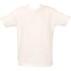 Bisiklet Yaka Beyaz Tişört