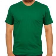 Bisiklet Yaka Yeşil Tişört