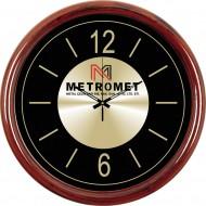 Metal Kadranlı Plastik Duvar Saati