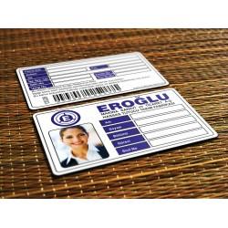 PERSONEL KARTI - ÖĞRENCİ KİMLİK KARTI - PLASTİK KART