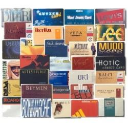 Mağaza puan kartı-Müşteri sadakat kartı-Market müşteri kartı